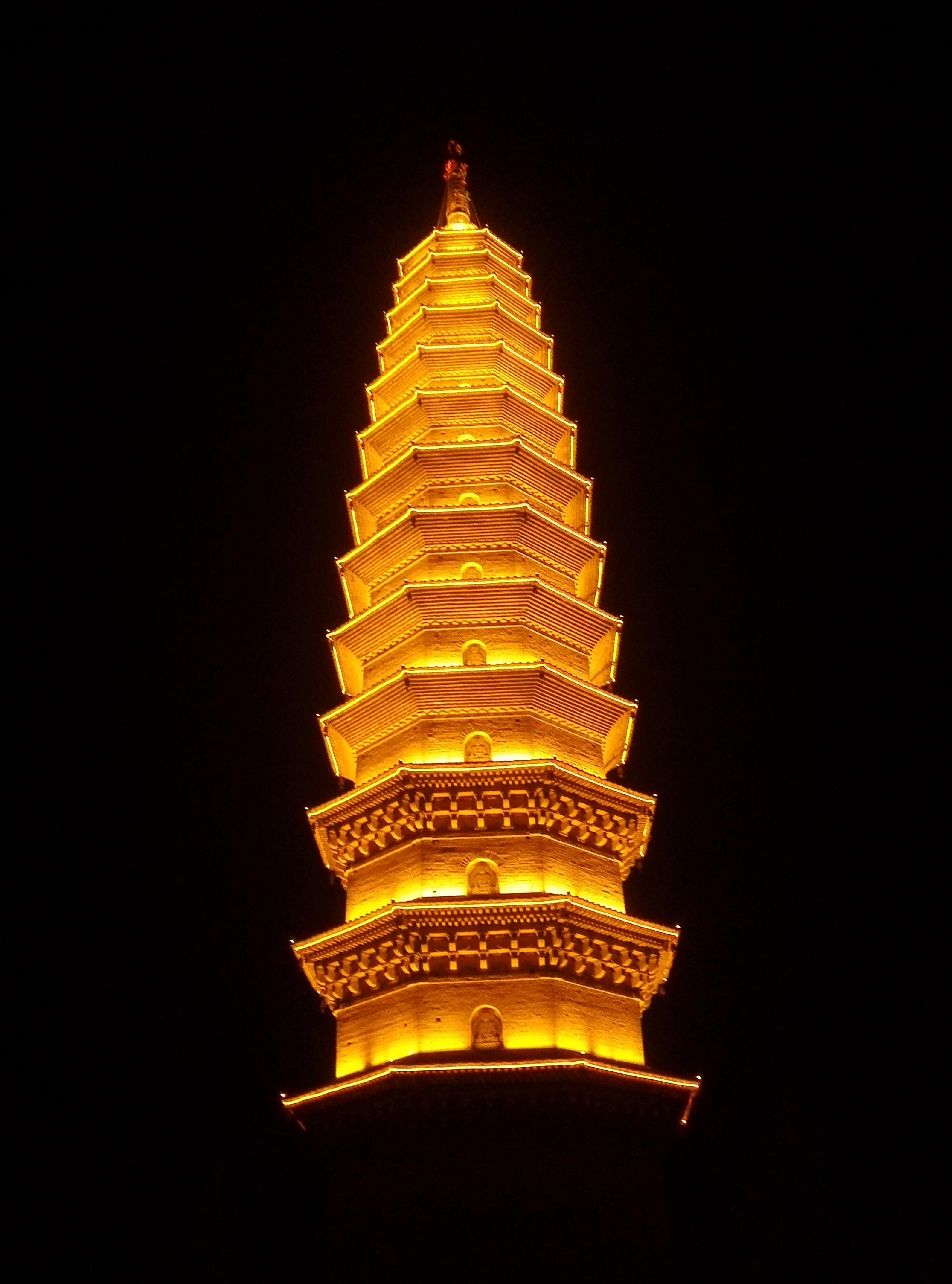 西安城隍庙亮化工程